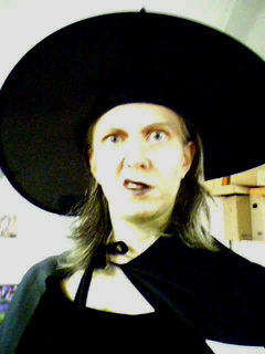 Dana as the Research Paper Witch