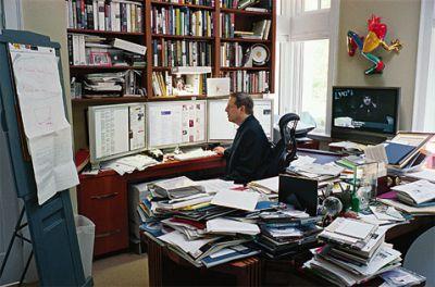 Al Gore's Work Space