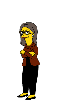 Simpsonized Dana