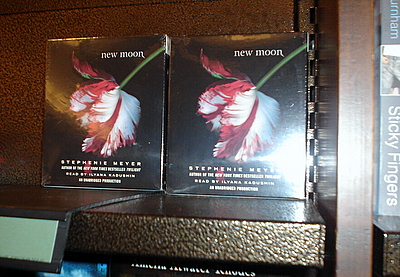 Copies of New Moon audiobooks