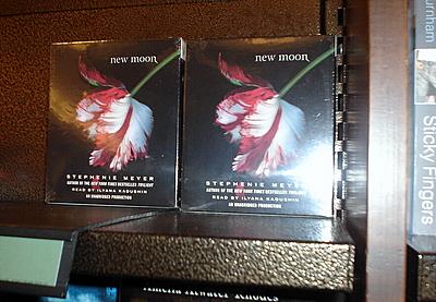 Copies of New Moon audiobooks