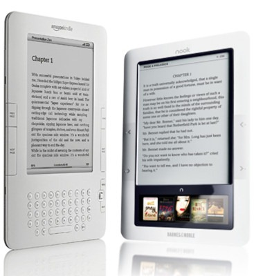 Kindle versus Nook