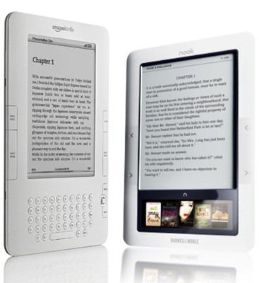 Kindle versus Nook