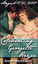 Celebrating Georgette Heyer