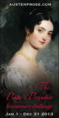 The Pride and Prejudice Bicentenary Challenge