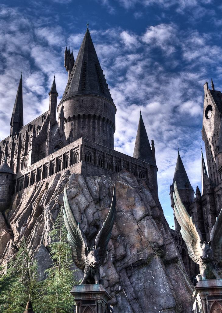 Harry Potter and the Forbidden Journey - Hogwarts Castle