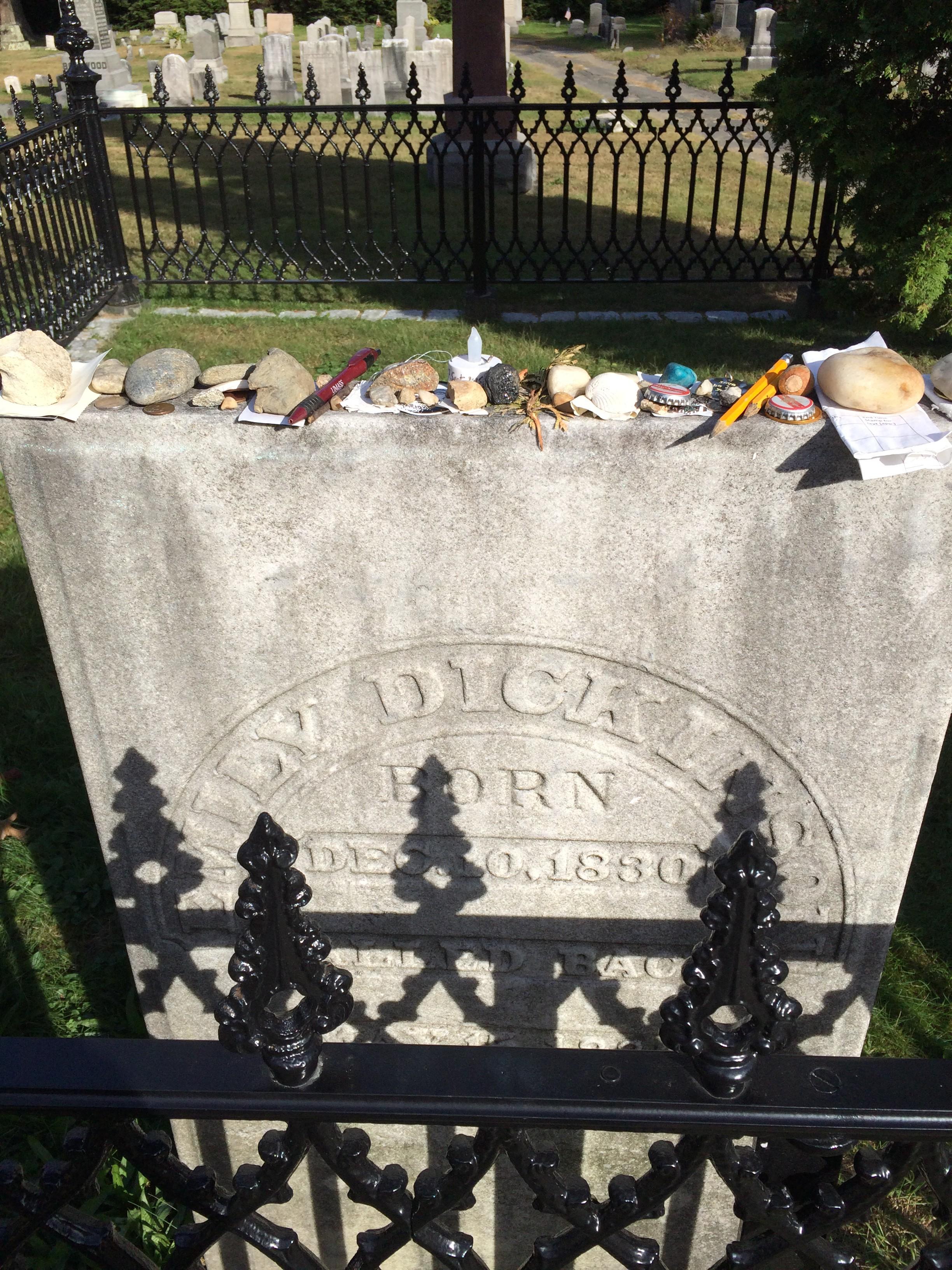 Emily Dickinson's Headstone