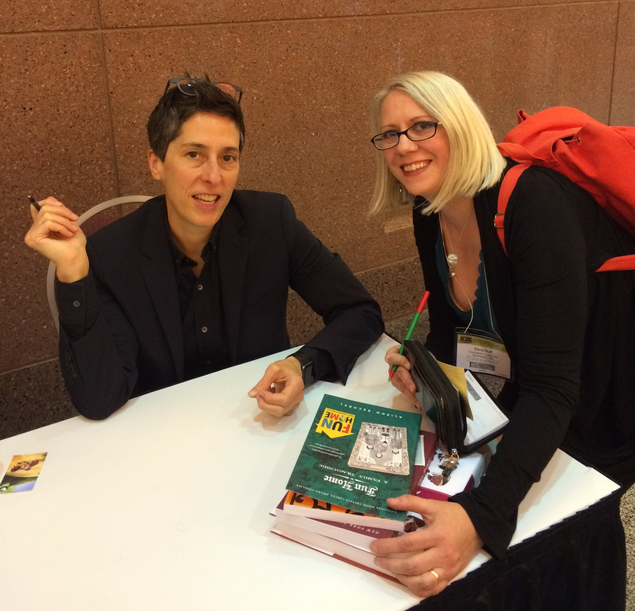 Alison Bechdel and Dana