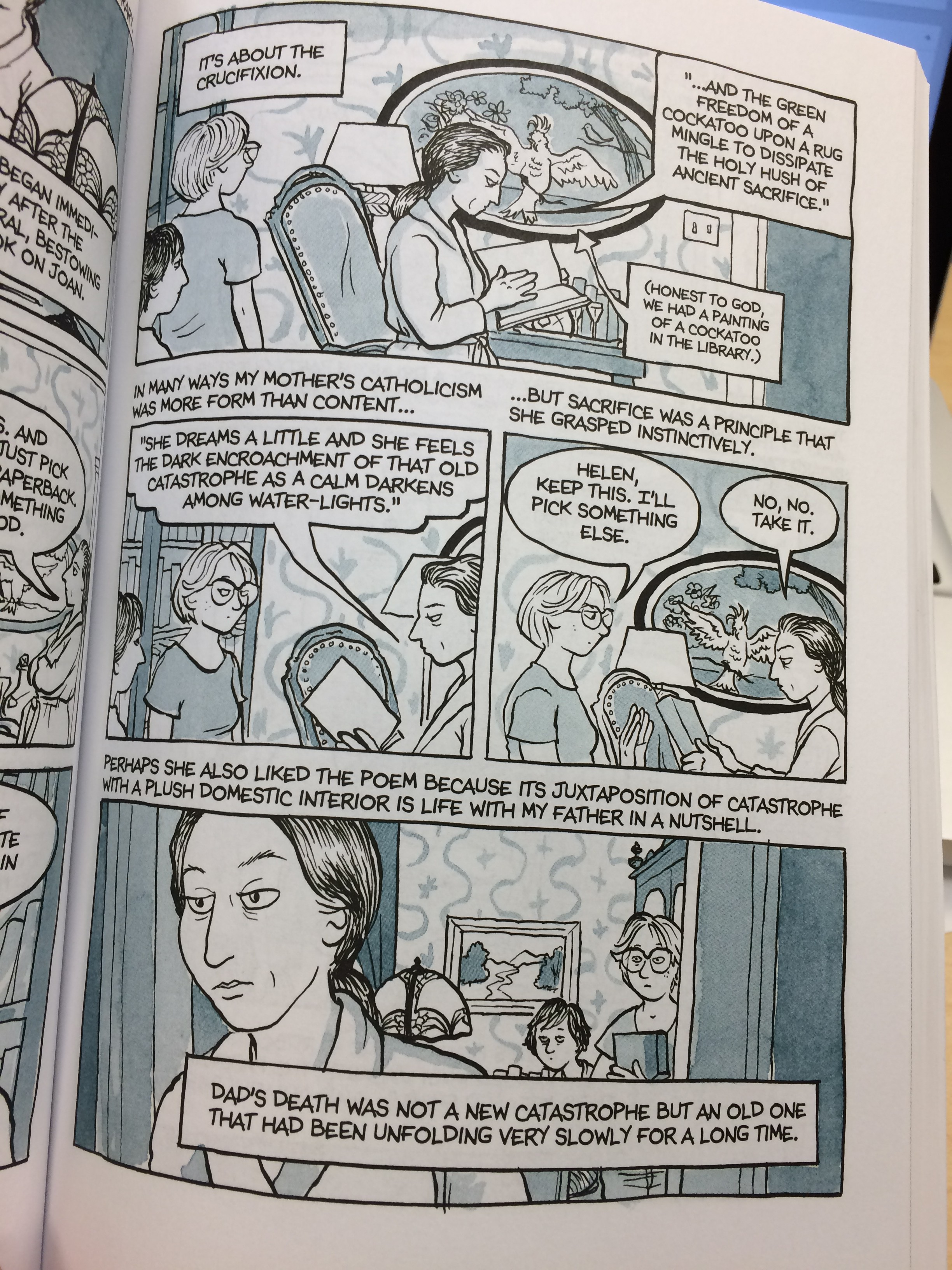 Panel from Fun Home
