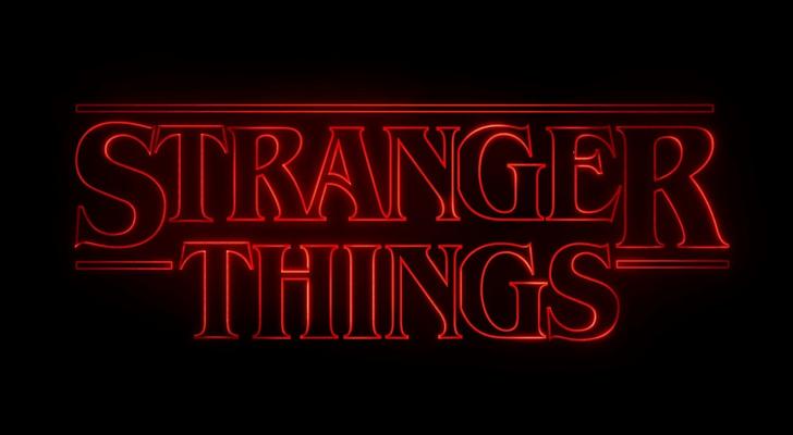 Stranger Things Title Card