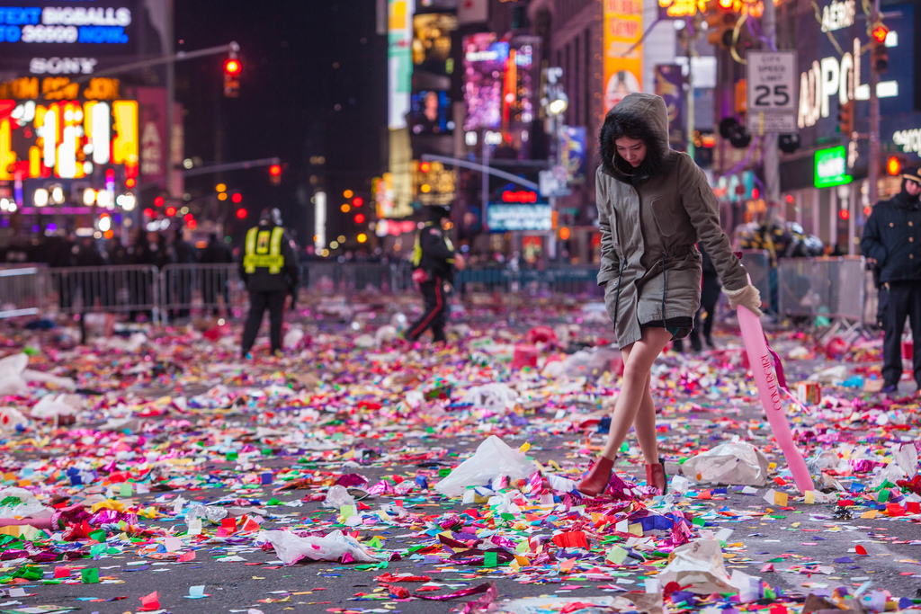 new year times square photo