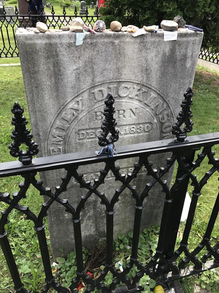 Emily Dickinson's Grave